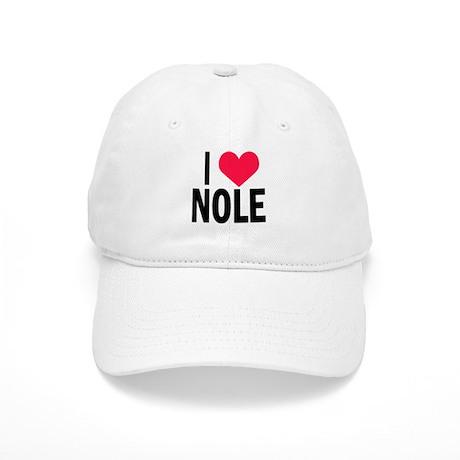 I Love NOLE I Heart Nole Cap