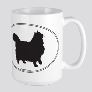 Norwegian Forest Silhouette Mugs