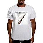 Saturn V Ash Grey T-Shirt