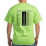 Saturn V Green T-Shirt