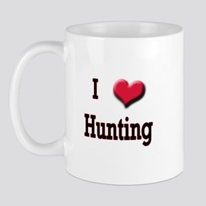 I Love (Heart) Hunting Mug