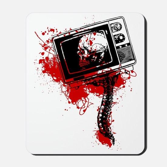 DEAD TV SPINE Mousepad