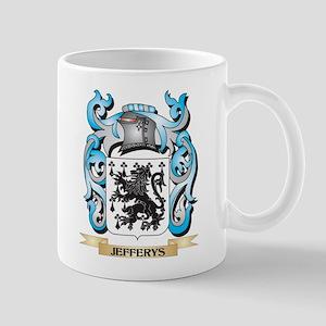 Jefferys Coat of Arms - Family Crest Mugs