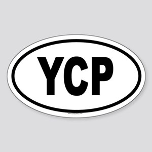 YCP Oval Sticker
