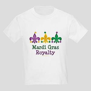 Mardi Gras Fleur de Lis Kids Light T-Shirt