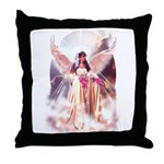 Angel Bride Throw Pillow