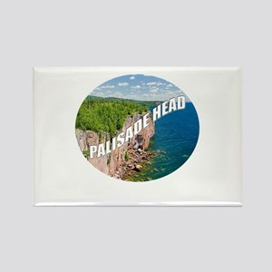Palisade Head Rectangle Magnet