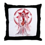 Angel of Blessings Throw Pillow
