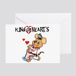 King of Hearts Valentine Greeting Card