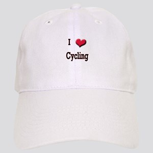 I Love (Heart) Cycling Cap