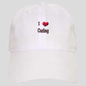 I Love (Heart) Curling Cap