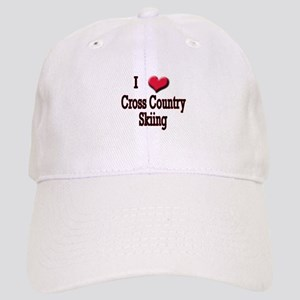 I Love (Heart) Cross Country Cap