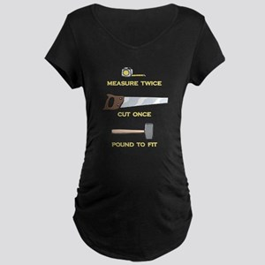 Pound to Fit Maternity Dark T-Shirt
