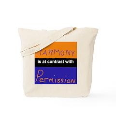 Harmony Permission Tote Bag