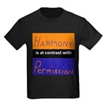 Harmony Permission Kids Dark T-Shirt