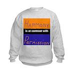 Harmony Permission Kids Sweatshirt