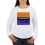 Harmony Permission Women's Long Sleeve T-Shirt