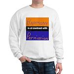 Harmony Permission Sweatshirt