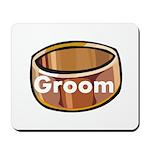 Groom Ring Mousepad
