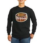 Groom Ring Long Sleeve Dark T-Shirt