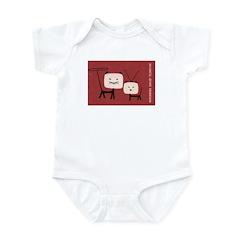 Cat TV Matchbox Label Infant Bodysuit