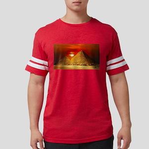 Egyptian Pyramids At Sunset T-Shirt