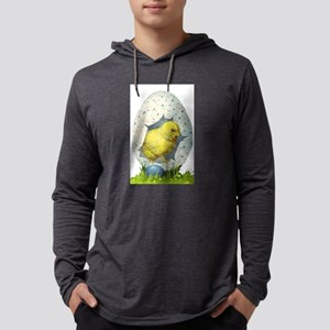 Vintage Easter Chick And Easter Egg Long Sleeve T-