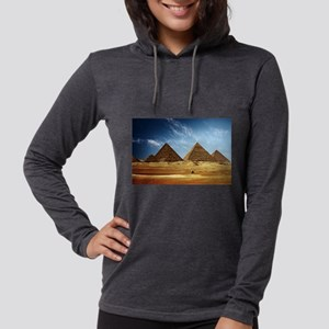 Egyptian Pyramids and Came Long Sleeve T-Shirt
