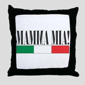 Mamma Mia! Throw Pillow