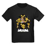 Brem Family Crest Kids Dark T-Shirt