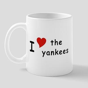 I Heart the Yankees NY Mug