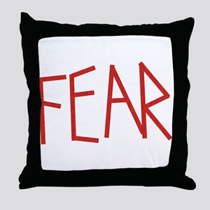 Mose Fear Throw Pillow