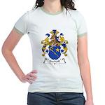 Bischoff Family Crest Jr. Ringer T-Shirt