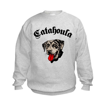Catahoula Leopard Dog Kids Sweatshirt