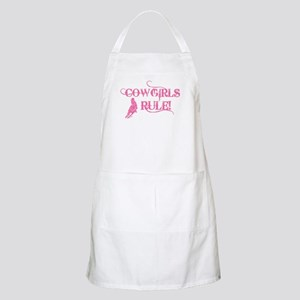 Cowgirls Rule BBQ Apron