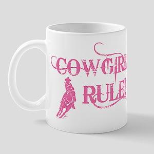 Cowgirls Rule Mug