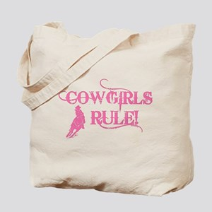 Cowgirls Rule Tote Bag