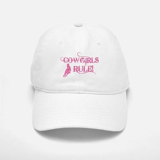 Cowgirls Rule Baseball Baseball Cap