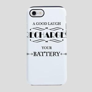 A good laugh recharges your iPhone 8/7 Tough Case
