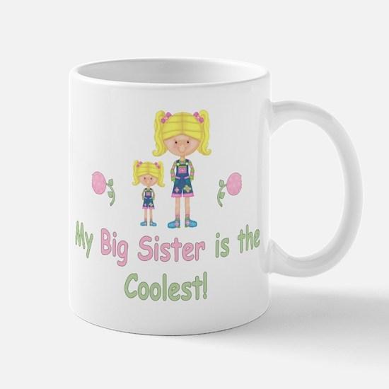 Coolest Big Sister (bl) Mug