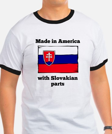 Made In America With Slovakian Parts T-Shirt