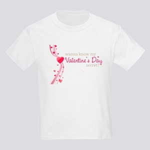 valentine's day secret Kids Light T-Shirt
