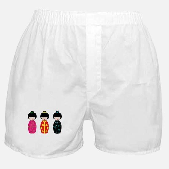 Kokeshi Dolls Boxer Shorts