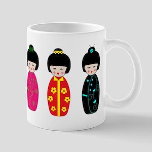 Kokeshi Dolls Mugs