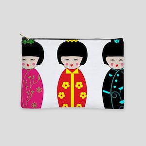 Kokeshi Dolls Makeup Bag