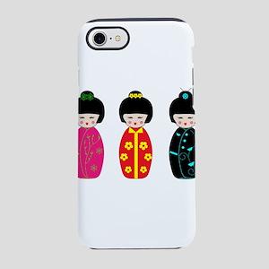 Kokeshi Dolls iPhone 8/7 Tough Case