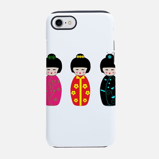 Kokeshi Dolls iPhone 8/7 Tough Case