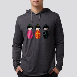 Kokeshi Dolls Long Sleeve T-Shirt
