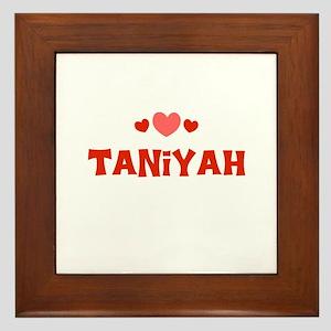 Taniyah Framed Tile