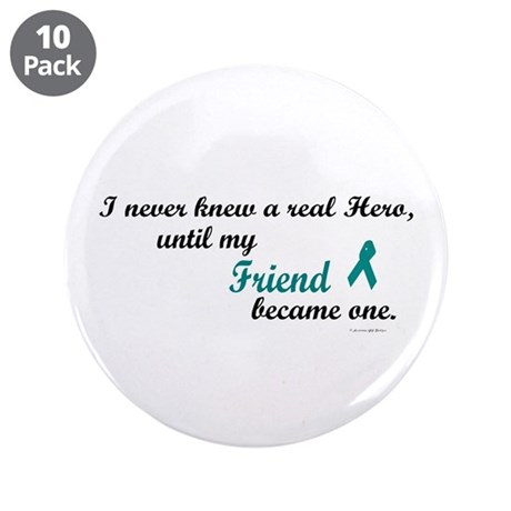 "Never Knew A Hero OC (Friend) 3.5"" Button (10 pack"